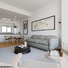 Thiết kế phòng khách chung cư NT00451