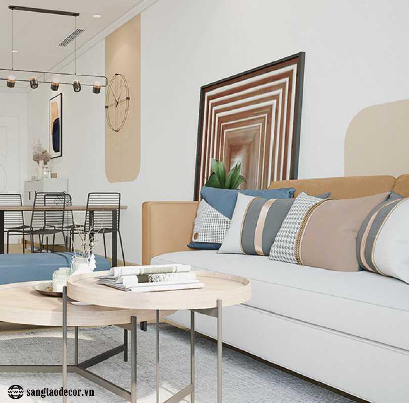 Thiết kế phòng khách chung cư NT00453