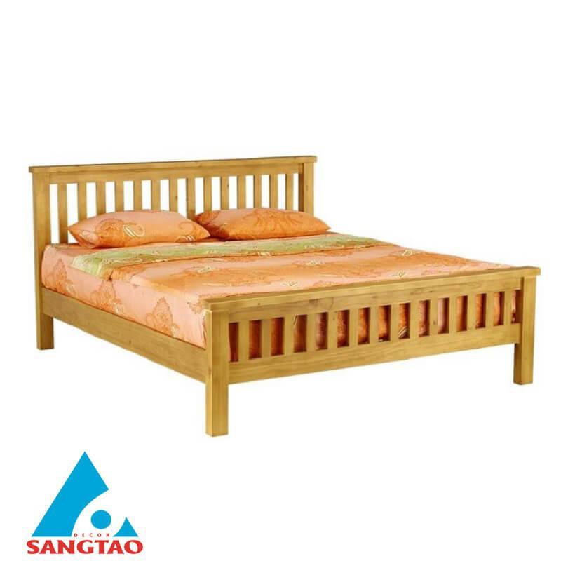 Giường gỗ chất lượng