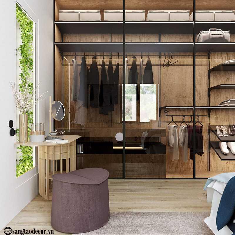 Thiết kế nội thất phòng ngủ NT00476