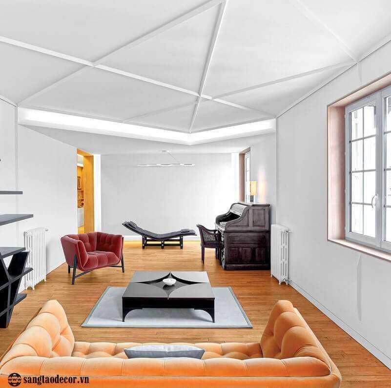 Thiết kế phòng khách chung cư NT00481