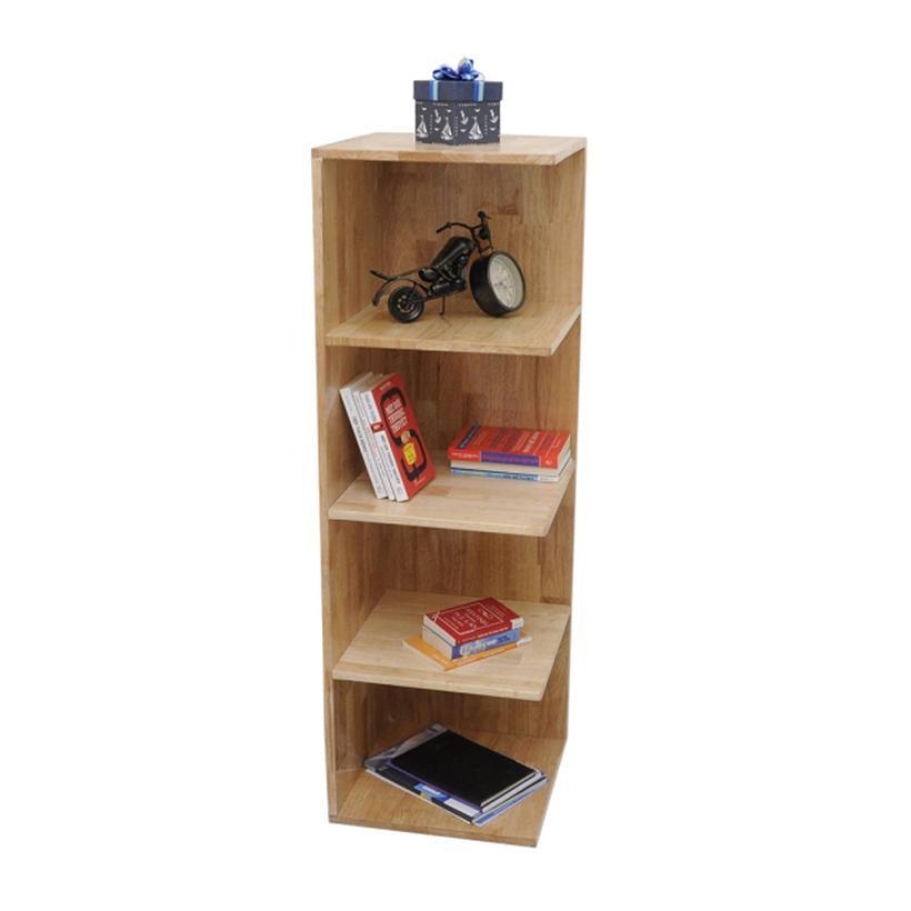 Kệ sách góc tường Home Office KSG68001 120 x 40 x 40 cm (Nâu nhạt)