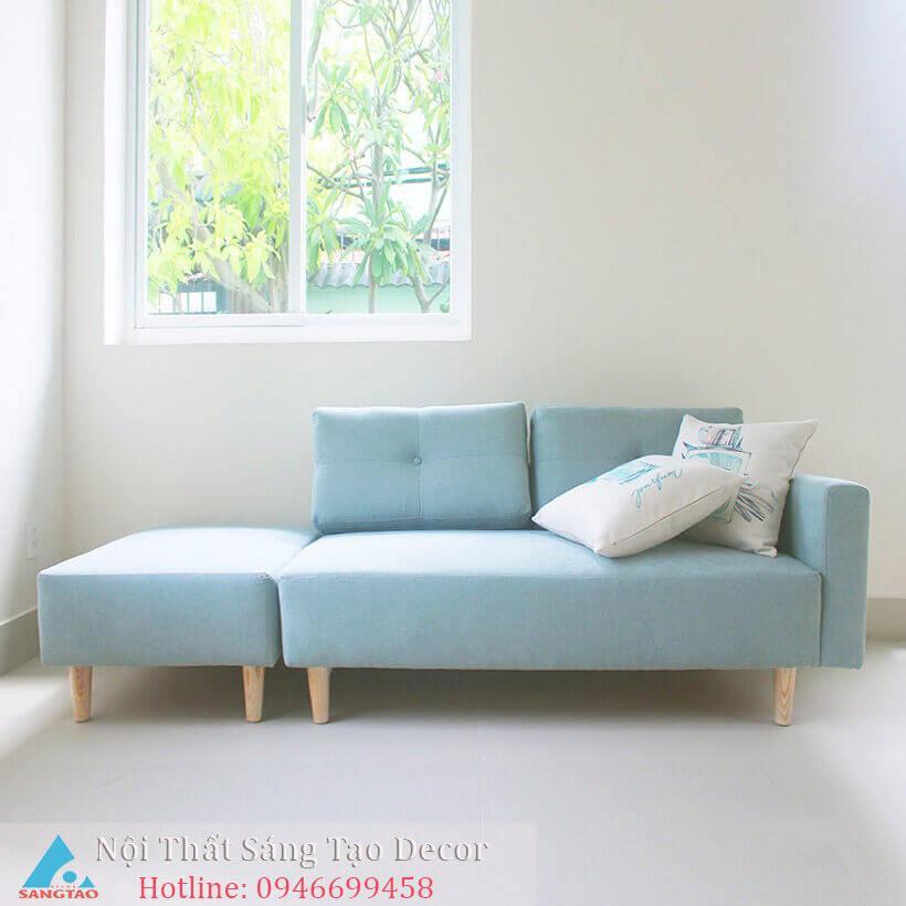 Ghế sofa blue pastel