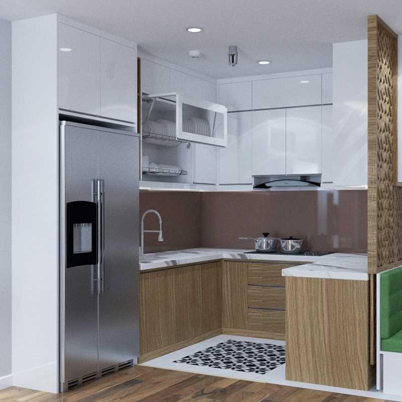 Thiết kế nội thất phòng bếp NT00504