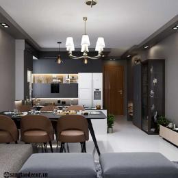 Thiết kế nội thất phòng bếp NT00507