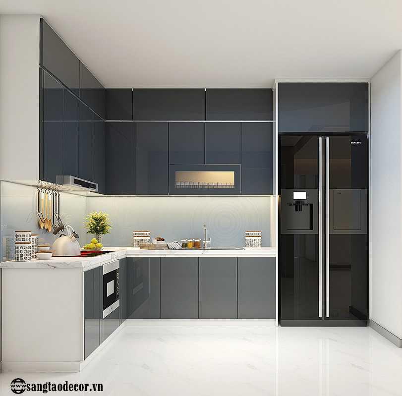 Thiết kế nội thất phòng bếp NT00511