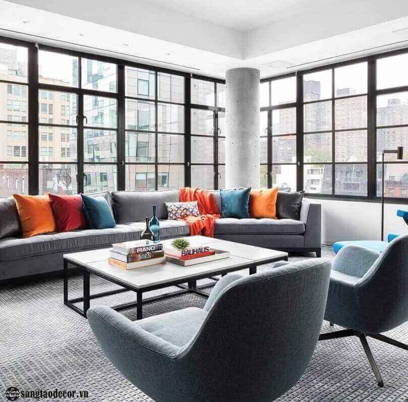 Thiết kế phòng khách căn hộ NT00514