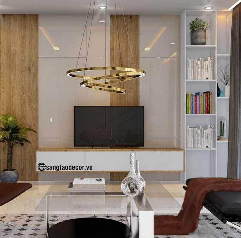 Thiết kế phòng khách chung cư NT00519