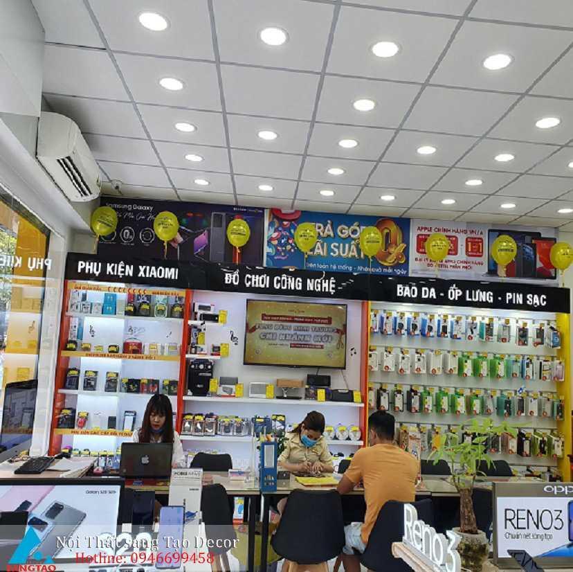 Mẫu thiết kế shop điện thoại giá rẻ