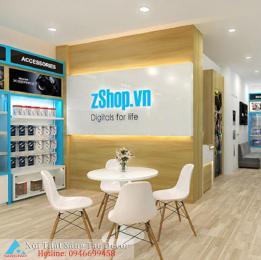 Mẫu thiết kế shop điện thoại sáng tạo