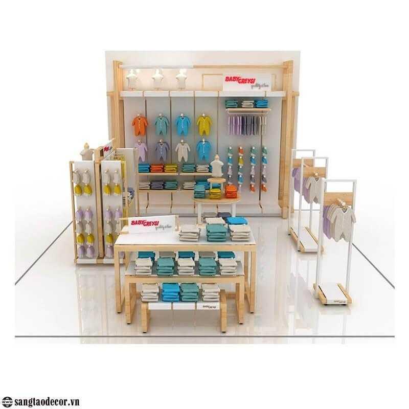 Thiết kế thi công shop thời trang NT00531