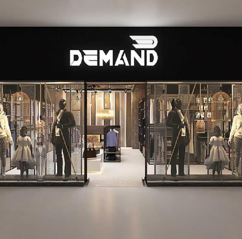 Thiết kế thi công shop thời trang Demand
