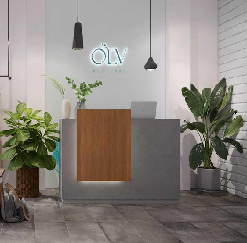 Thiết kế thi công shop thời trang OLV