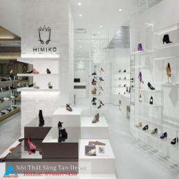 Mẫu thiết kế shop giày nữ hiện đại