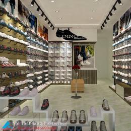 Mẫu thiết kế shop giày độc đáo