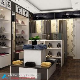 Mẫu thiết kế shop giày nữ mới mẻ
