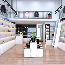 Mẫu thiết kế shop giày, balô