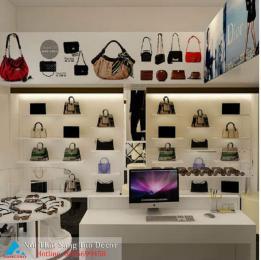 Mẫu thiết kế shop túi cầm tay nữ