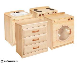 Tủ gỗ trẻ em NT00633