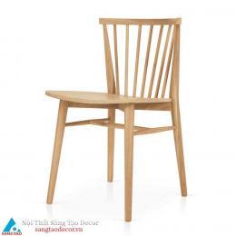 Ghế gỗ nhà hàng mẫu mới