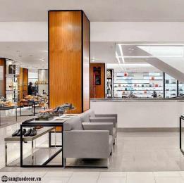 Thiết kế thi công shop thời trang giày NT00722