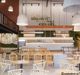 Thiết kế thi công quán cafe Gemini