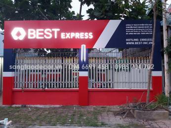 Thiết kế thi công bảng hiệu quảng cáo Best Express