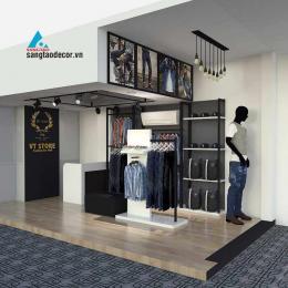 Thiết kế thi công shop thời trang NT00744