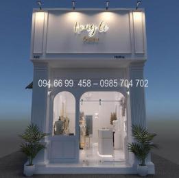 Thiết kế thi công shop thời trang NT00765