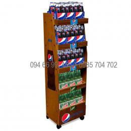 Quầy tủ kệ trưng bày Pepsi