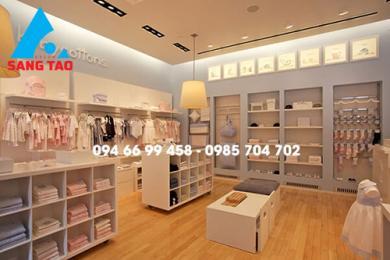 Thiết kế shop quần áo trẻ em Baby Cottons