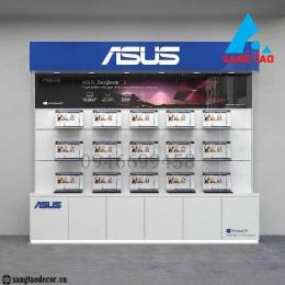 Quầy tủ kệ trưng bày máy tính