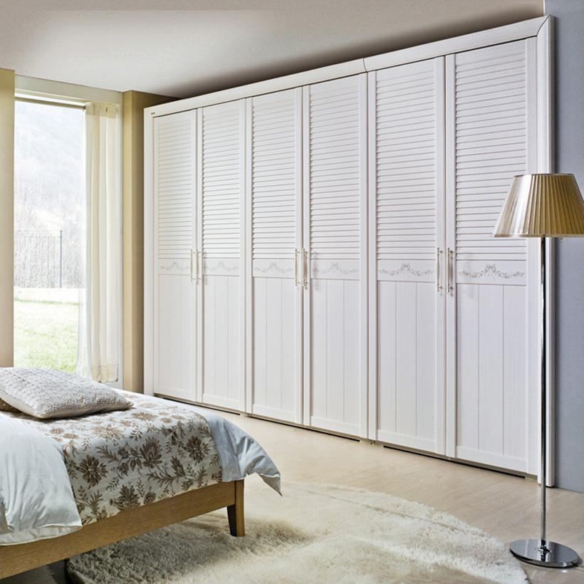 Bộ tủ áo Christine 6 cánh cửa Jang In WR-0368ABD 308,4 x 64,5 x 224,5 cm